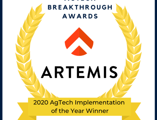 Artemis wins Agtech Breakthrough Award