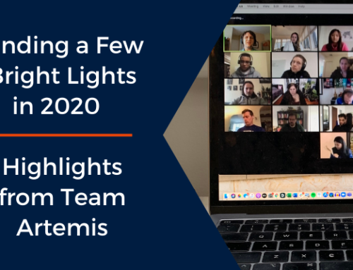 Finding a Few Bright Lights in 2020 – Highlights from Team Artemis
